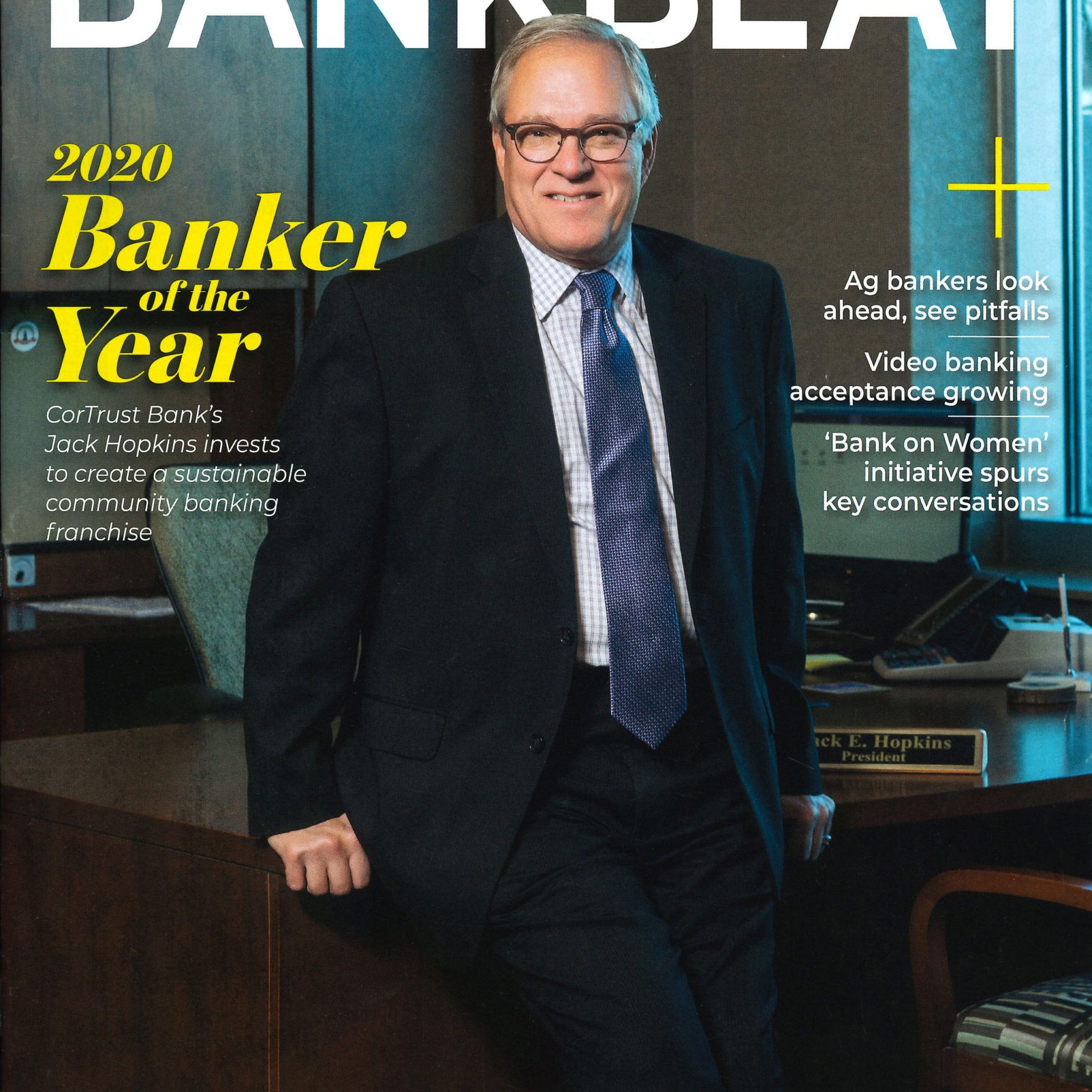 Bank Beat Magazine Cover
